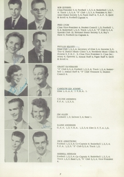 Page 15, 1958 Edition, Salmon High School - Savage Chief Yearbook (Salmon, ID) online yearbook collection