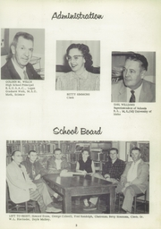 Page 9, 1958 Edition, Salmon High School - Savage Chief Yearbook (Salmon, ID) online yearbook collection