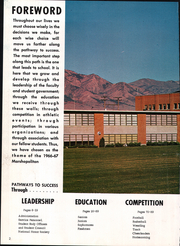 Page 6, 1967 Edition, Marsh Valley High School - Marshopolitan Yearbook (Arimo, ID) online yearbook collection