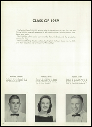 Page 12, 1959 Edition, Parma High School - Panther Tales Yearbook (Parma, ID) online yearbook collection
