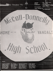 Page 5, 1971 Edition, McCall Donnelly High School - Ski Tracks Yearbook (McCall, ID) online yearbook collection