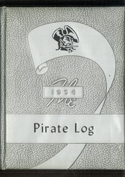 1954 Edition, Butte County High School - Pirate Log Yearbook (Arco, ID)