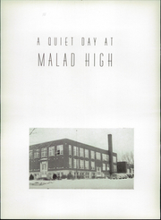 Page 8, 1944 Edition, Malad High School - Mirror Yearbook (Malad City, ID) online yearbook collection