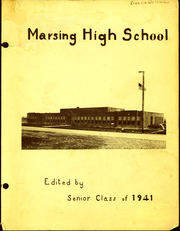 1941 Edition, Marsing High School - Arrow Yearbook (Marsing, ID)