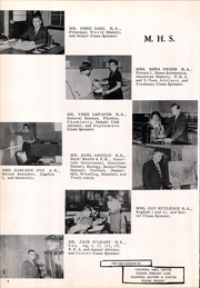 Page 12, 1960 Edition, Marsing High School - Arrow Yearbook (Marsing, ID) online yearbook collection