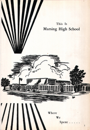 Page 5, 1960 Edition, Marsing High School - Arrow Yearbook (Marsing, ID) online yearbook collection