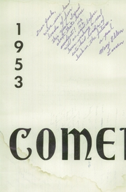 Page 6, 1953 Edition, Rupert High School - Comet Yearbook (Rupert, ID) online yearbook collection