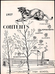 Page 5, 1957 Edition, Craigmont High School - Cougars Growl Yearbook (Craigmont, ID) online yearbook collection