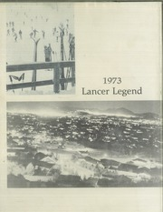 Thousand Oaks High School - Lancer Legend Yearbook (Thousand Oaks, CA) online yearbook collection, 1973 Edition, Page 1