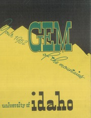 1952 Edition, University of Idaho - Gem of the Mountains Yearbook (Moscow, ID)
