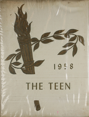 Page 1, 1958 Edition, Rigby Junior High School - Teen Yearbook (Rigby, ID) online yearbook collection
