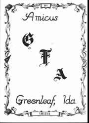 Page 4, 1949 Edition, Greenleaf Academy - Amicus Yearbook (Greenleaf, ID) online yearbook collection