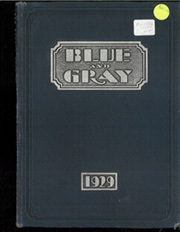 1929 Edition, Mountain View Union High School - Blue and Gray Yearbook (Mountain View, CA)