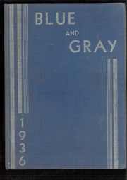 1936 Edition, Mountain View Union High School - Blue and Gray Yearbook (Mountain View, CA)