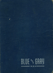 1944 Edition, Mountain View Union High School - Blue and Gray Yearbook (Mountain View, CA)