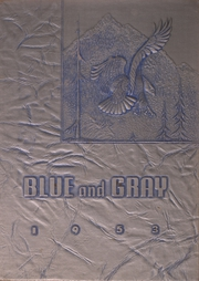 1953 Edition, Mountain View Union High School - Blue and Gray Yearbook (Mountain View, CA)