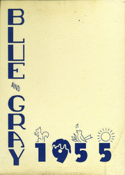 1955 Edition, Mountain View Union High School - Blue and Gray Yearbook (Mountain View, CA)