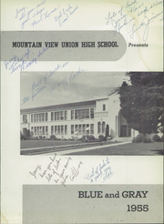 Page 5, 1955 Edition, Mountain View Union High School - Blue and Gray Yearbook (Mountain View, CA) online yearbook collection