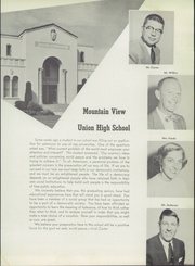 Page 9, 1955 Edition, Mountain View Union High School - Blue and Gray Yearbook (Mountain View, CA) online yearbook collection