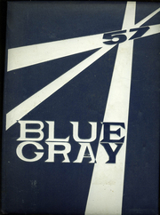 1957 Edition, Mountain View Union High School - Blue and Gray Yearbook (Mountain View, CA)