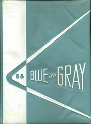 1958 Edition, Mountain View Union High School - Blue and Gray Yearbook (Mountain View, CA)