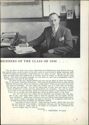 Page 17, 1938 Edition, Washington High School - Memory Lane Yearbook (South Bend, IN) online yearbook collection
