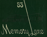 Page 1, 1953 Edition, Washington High School - Memory Lane Yearbook (South Bend, IN) online yearbook collection