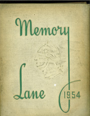 Page 1, 1954 Edition, Washington High School - Memory Lane Yearbook (South Bend, IN) online yearbook collection