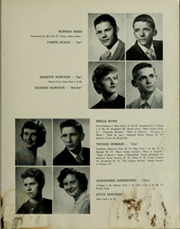 Page 13, 1954 Edition, Washington High School - Memory Lane Yearbook (South Bend, IN) online yearbook collection