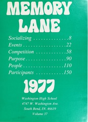 Page 5, 1977 Edition, Washington High School - Memory Lane Yearbook (South Bend, IN) online yearbook collection