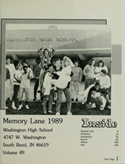 Page 5, 1989 Edition, Washington High School - Memory Lane Yearbook (South Bend, IN) online yearbook collection