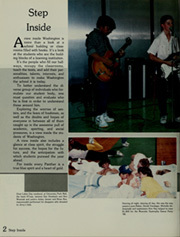 Page 6, 1989 Edition, Washington High School - Memory Lane Yearbook (South Bend, IN) online yearbook collection