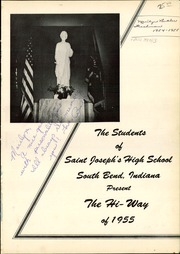 Page 5, 1955 Edition, St Josephs High School - HiWay Yearbook (South Bend, IN) online yearbook collection