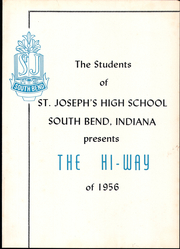 Page 5, 1956 Edition, St Josephs High School - HiWay Yearbook (South Bend, IN) online yearbook collection