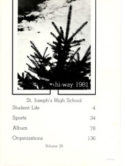 Page 5, 1981 Edition, St Josephs High School - HiWay Yearbook (South Bend, IN) online yearbook collection