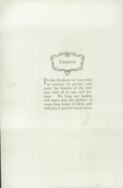 Page 8, 1921 Edition, Plymouth High School - Mayflower Yearbook (Plymouth, IN) online yearbook collection
