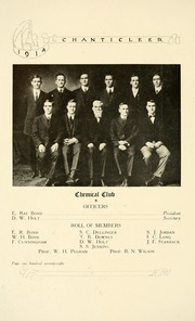 Page 196, 1914 Edition, Duke University - Chanticleer Yearbook (Durham, NC) online yearbook collection