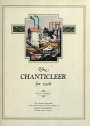 Page 7, 1926 Edition, Duke University - Chanticleer Yearbook (Durham, NC) online yearbook collection