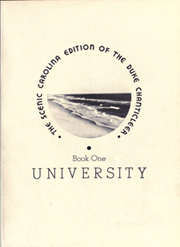 Page 13, 1936 Edition, Duke University - Chanticleer Yearbook (Durham, NC) online yearbook collection