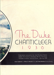Page 7, 1936 Edition, Duke University - Chanticleer Yearbook (Durham, NC) online yearbook collection