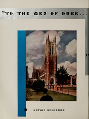Page 8, 1937 Edition, Duke University - Chanticleer Yearbook (Durham, NC) online yearbook collection