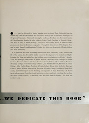 Page 9, 1937 Edition, Duke University - Chanticleer Yearbook (Durham, NC) online yearbook collection