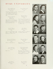 Page 73, 1938 Edition, Duke University - Chanticleer Yearbook (Durham, NC) online yearbook collection