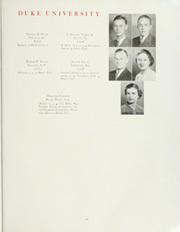 Page 89, 1938 Edition, Duke University - Chanticleer Yearbook (Durham, NC) online yearbook collection