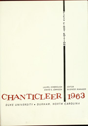 Page 5, 1963 Edition, Duke University - Chanticleer Yearbook (Durham, NC) online yearbook collection
