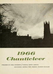 Page 5, 1966 Edition, Duke University - Chanticleer Yearbook (Durham, NC) online yearbook collection
