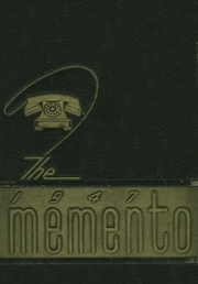 1947 Edition, Hewitt Trussville High School - Memento Yearbook (Trussville, AL)