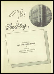 Page 7, 1952 Edition, Woodlawn High School - Woodlog Yearbook (Birmingham, AL) online yearbook collection