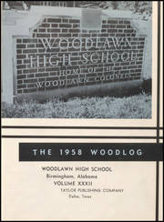 Page 5, 1958 Edition, Woodlawn High School - Woodlog Yearbook (Birmingham, AL) online yearbook collection