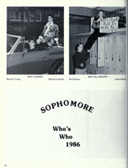 Page 130, 1986 Edition, Minor High School - Iris Yearbook (Birmingham, AL) online yearbook collection